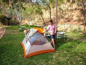Standley Chasm Angkerle Camping - Accommodation NSW