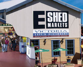 The E Shed Markets - Accommodation NSW