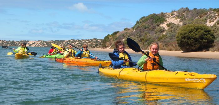 Canoe the Coorong - Accommodation NSW