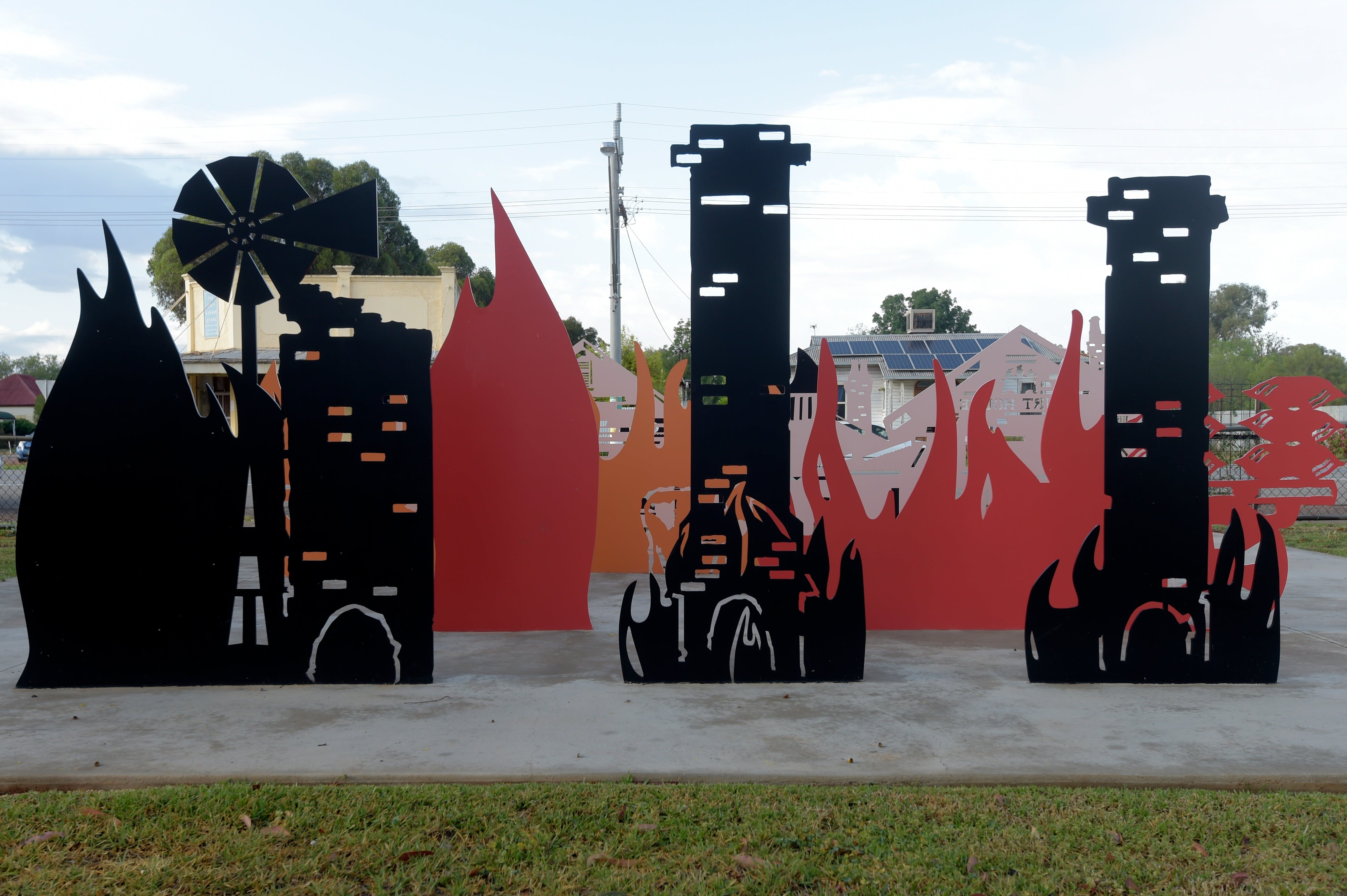 Lyrics, Landscapes and Lintels - Leeton Public Art Trail