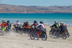 Sellicks Beach Historic Motorcycle Races - Accommodation NSW