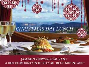 Christmas Day Lunch Hotel Mountain Heritage - Accommodation NSW