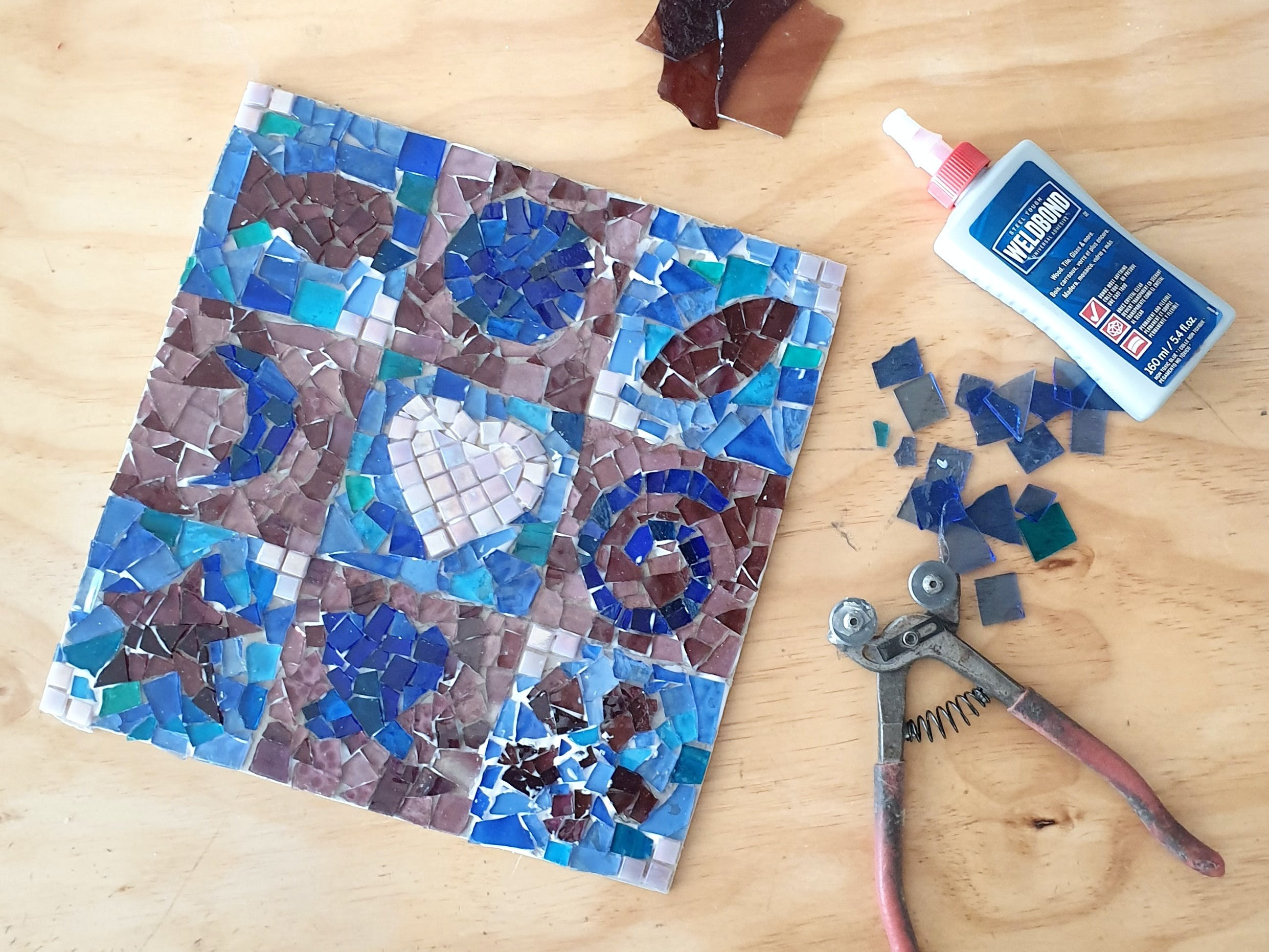 Intro to Mosaics Weekend with Leadlight By Ettore - Accommodation NSW
