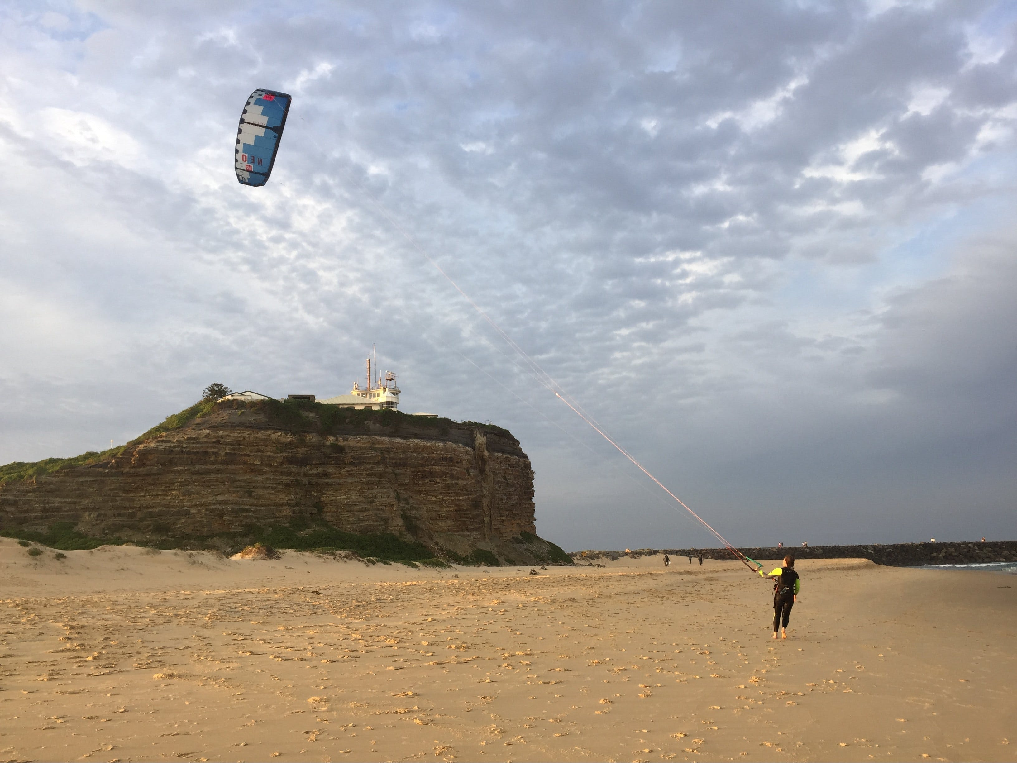 Kiteboarding Lesson - Accommodation NSW