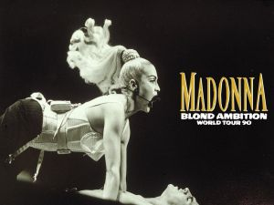 Madonna Blond Ambition Tour - Accommodation NSW