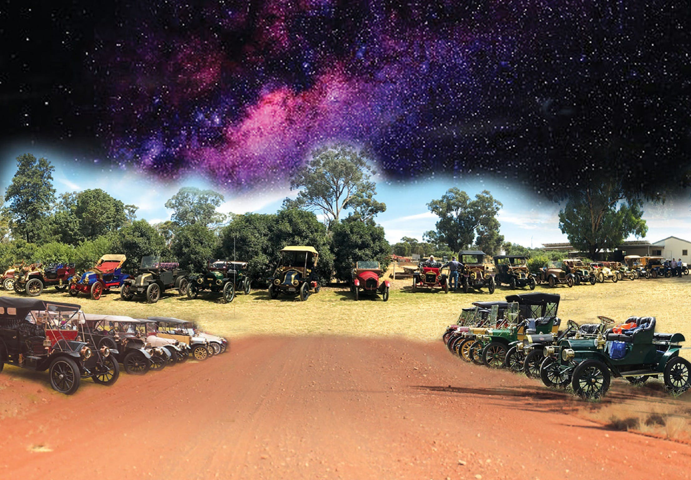 National Veteran 1 and 2 Cylinder Rally - Accommodation NSW