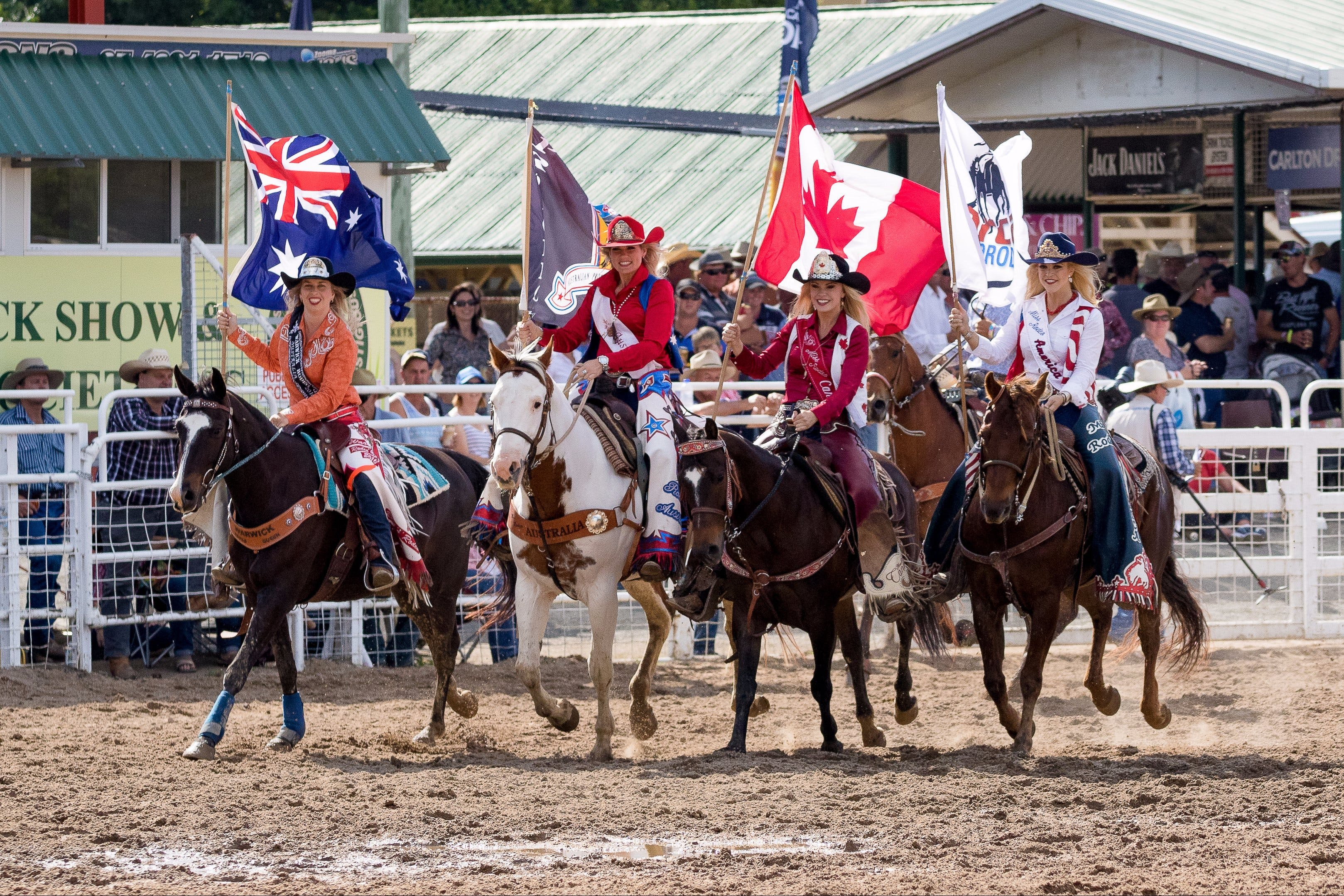Warwick Rodeo National APRA National Finals and Warwick Gold Cup Campdraft - Accommodation NSW
