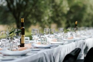 Whispering Brook Olive Long Table Luncheon - Accommodation NSW