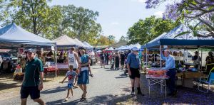 Calliope Historical Village Markets - Accommodation NSW