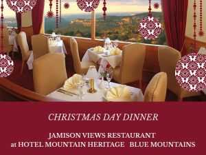 Christmas Day Dinner Hotel Mountain Heritage - Accommodation NSW
