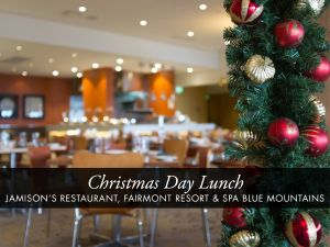 Christmas Day Buffet Lunch at Jamison's Restaurant - Accommodation NSW
