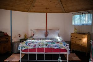 Funky Yurt on Acreage - Accommodation NSW